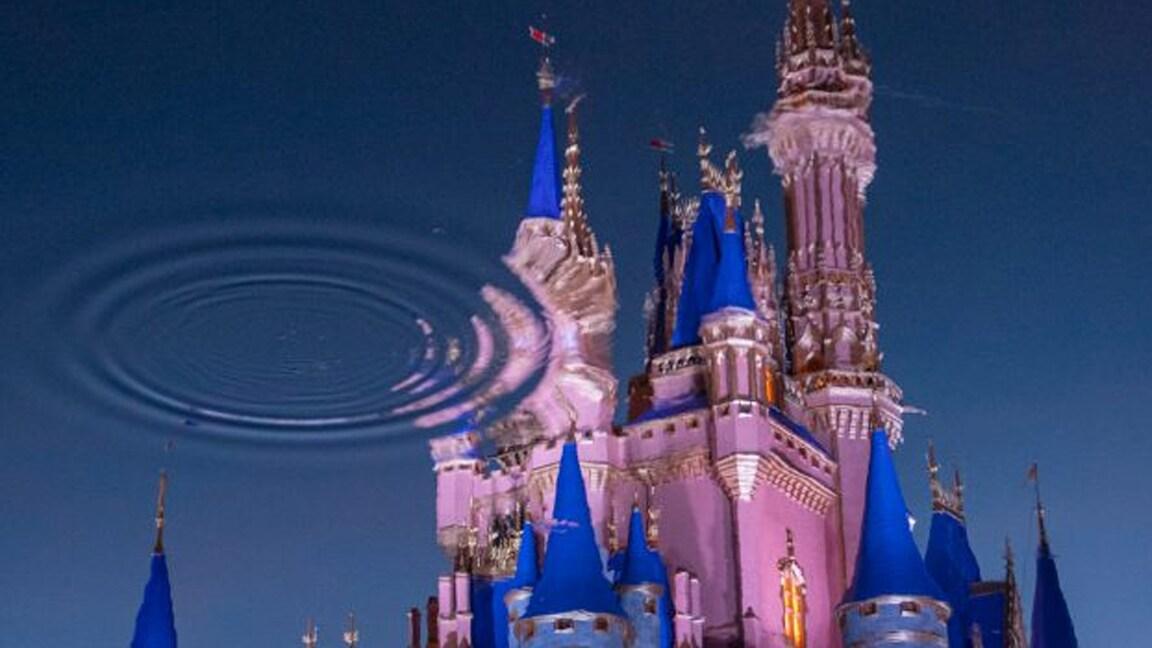 Por Trás das Câmeras - Reflexo das Novas Cores do Cinderella Castle