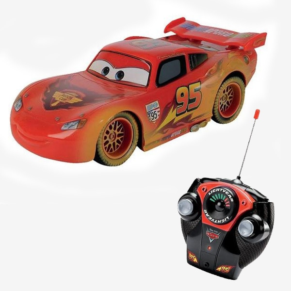 Remote Control Lightning Mcqueen Scale 1:12