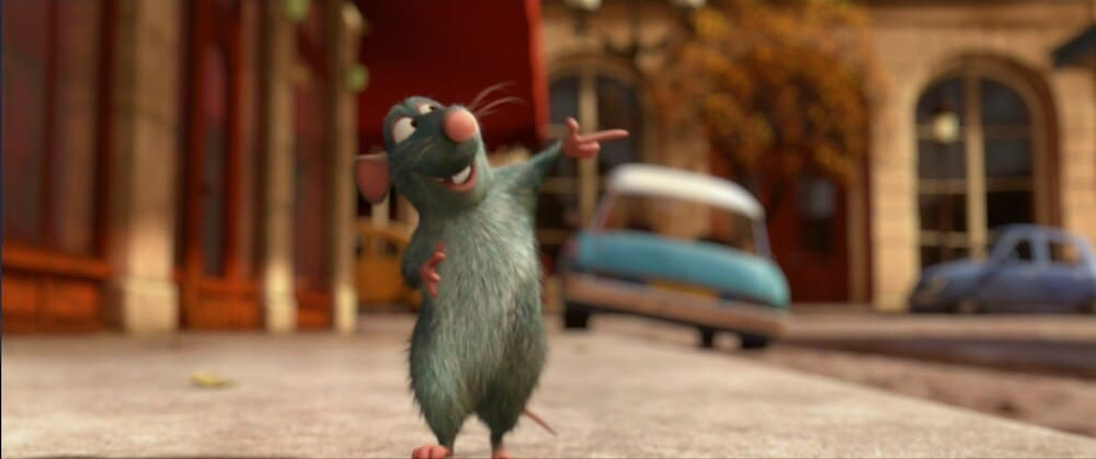Remy the rat from Ratatouille