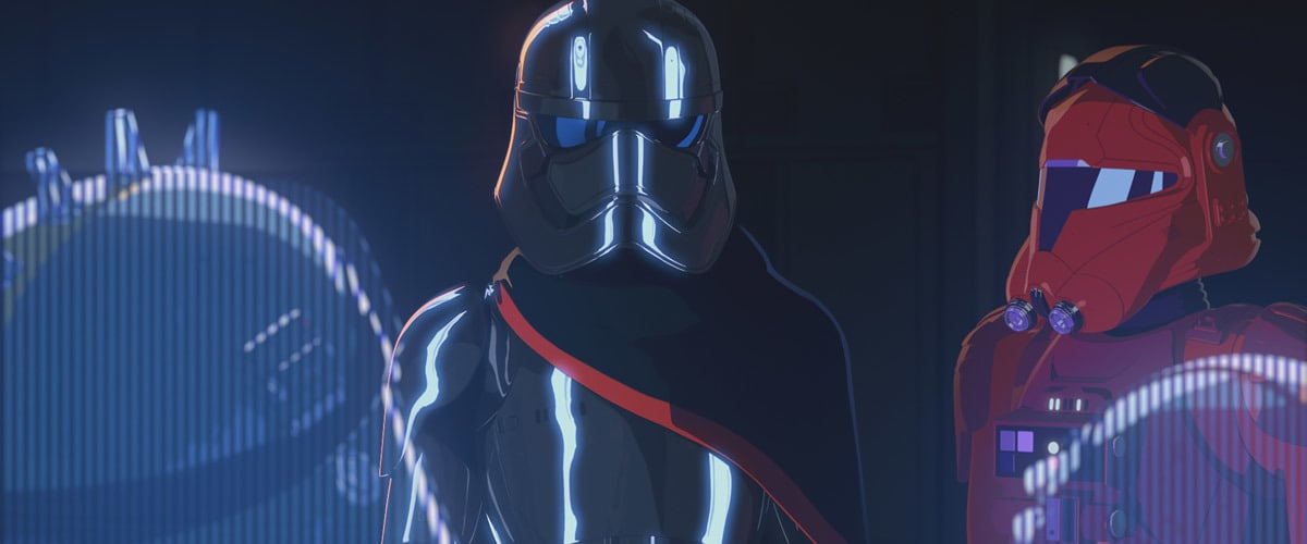 "Captain Phasma as depicted in ""Star Wars: Resistance"""