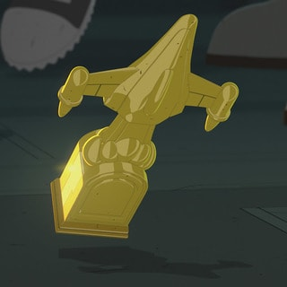 Kaz's Lucky Trophy