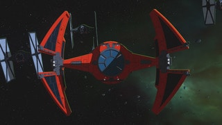 Major Vonreg's TIE interceptor