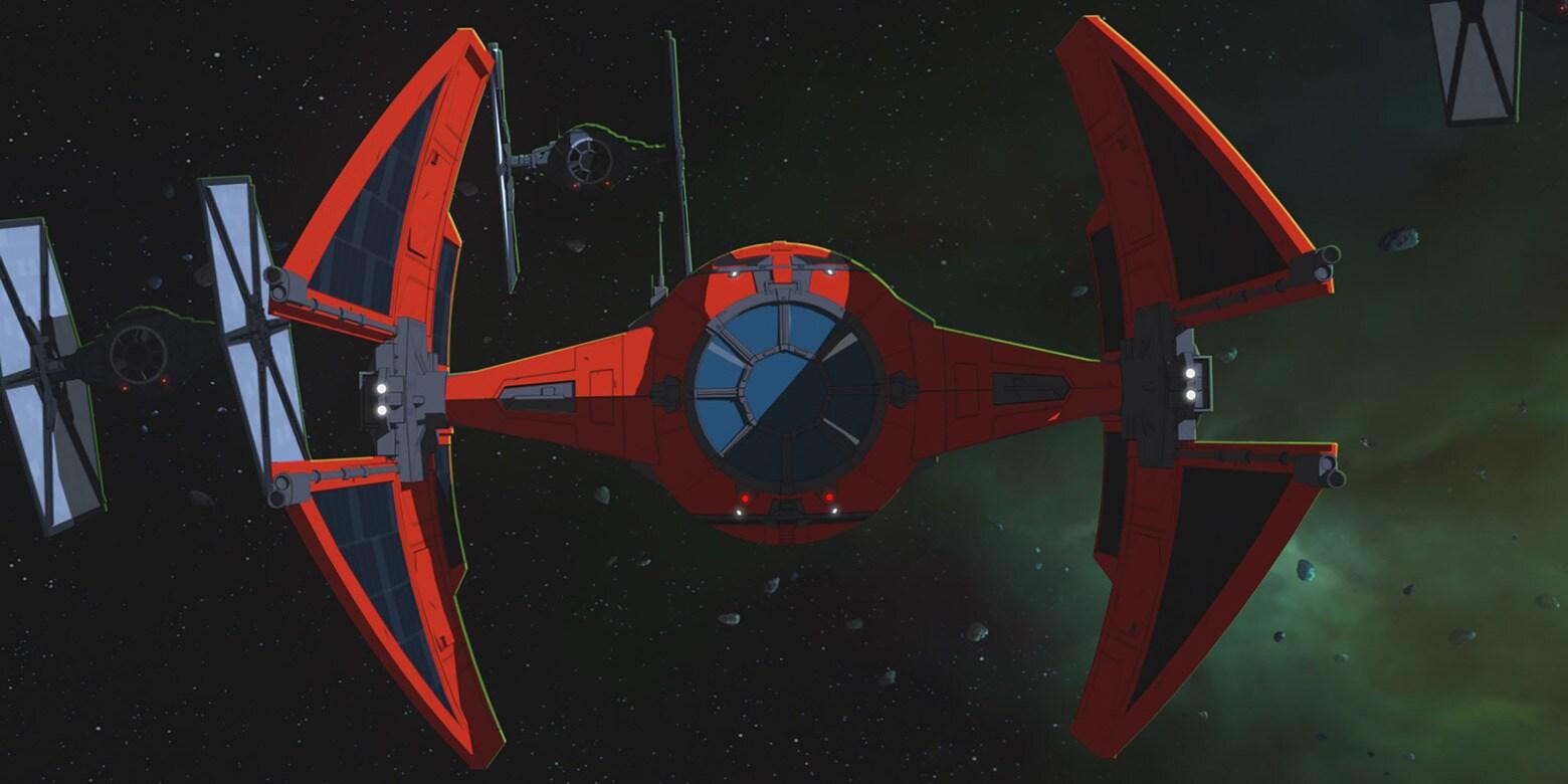 Major Vonreg's TIE interceptor | StarWars.com