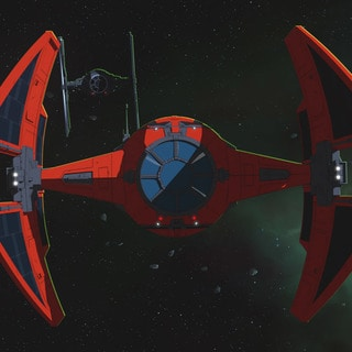 Major Vonreg's TIE interceptor