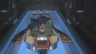 Synara's salvaging skiff