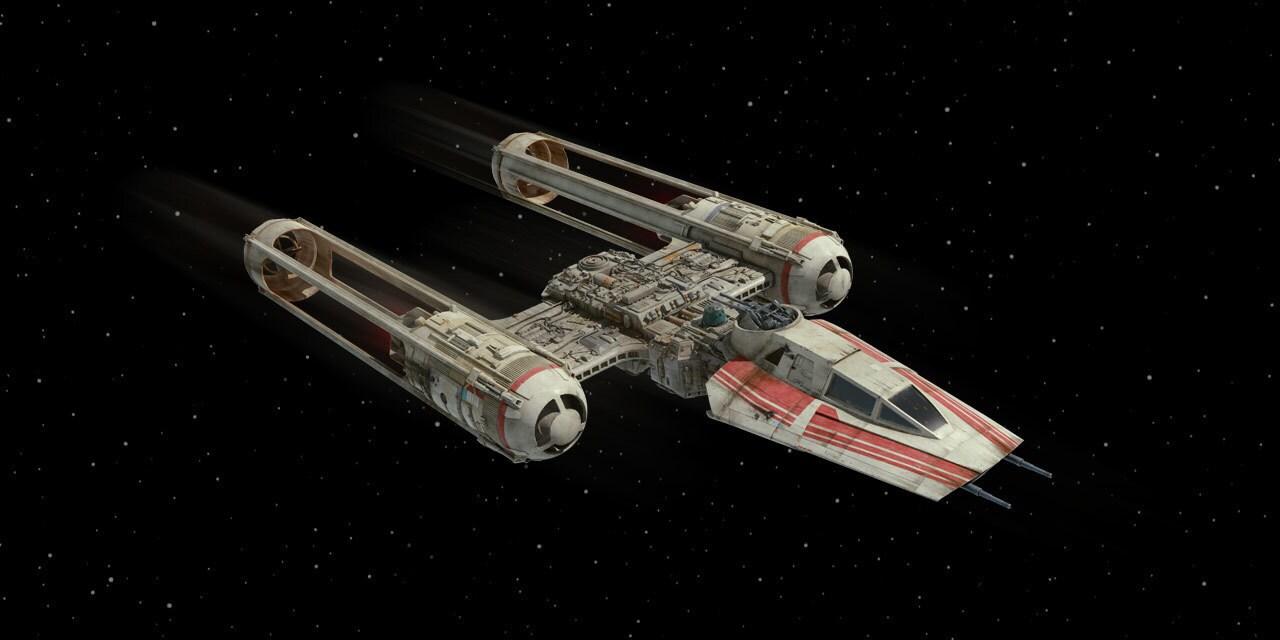 Resistance Y Wing Starfighter Starwars Com