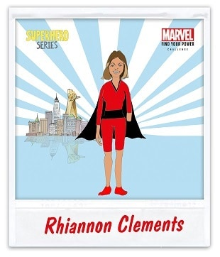 Rhiannon Clements Find Your Power Challenge image