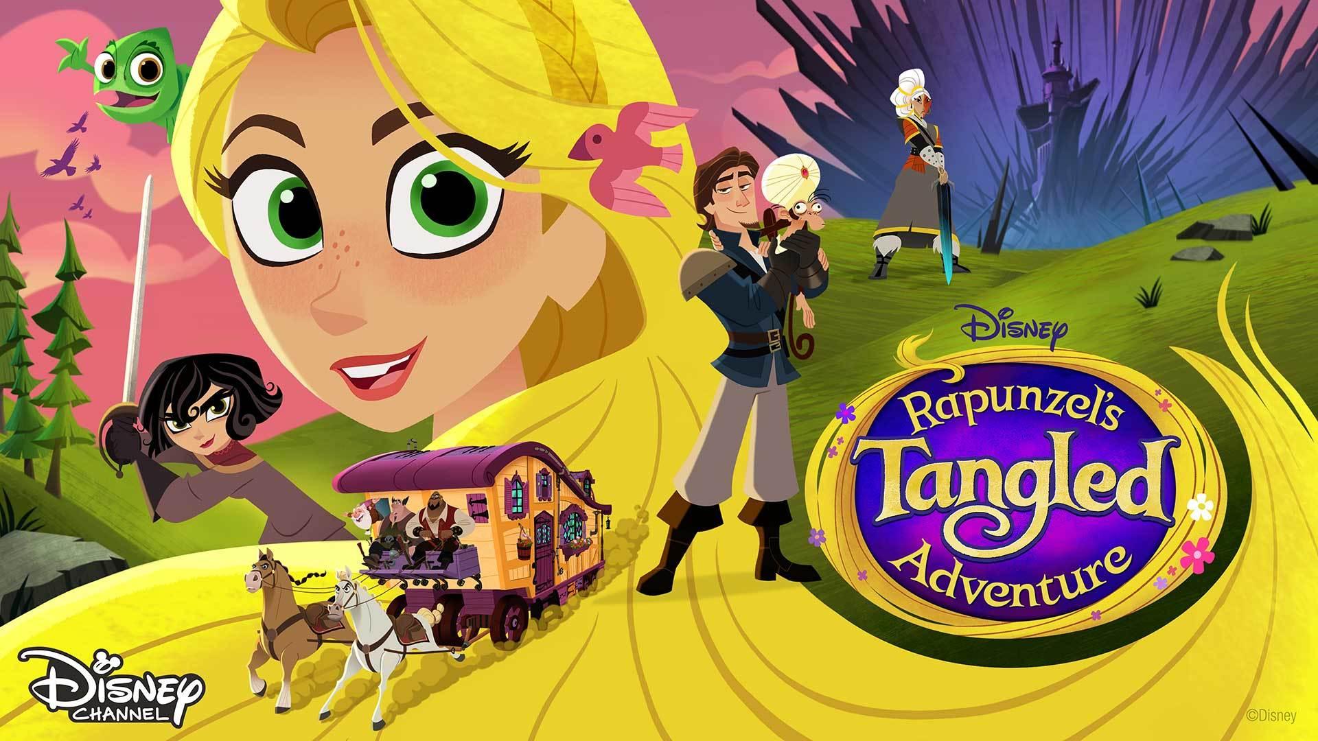Rapunzel S Tangled Adventure Disney Tv Shows Indonesia