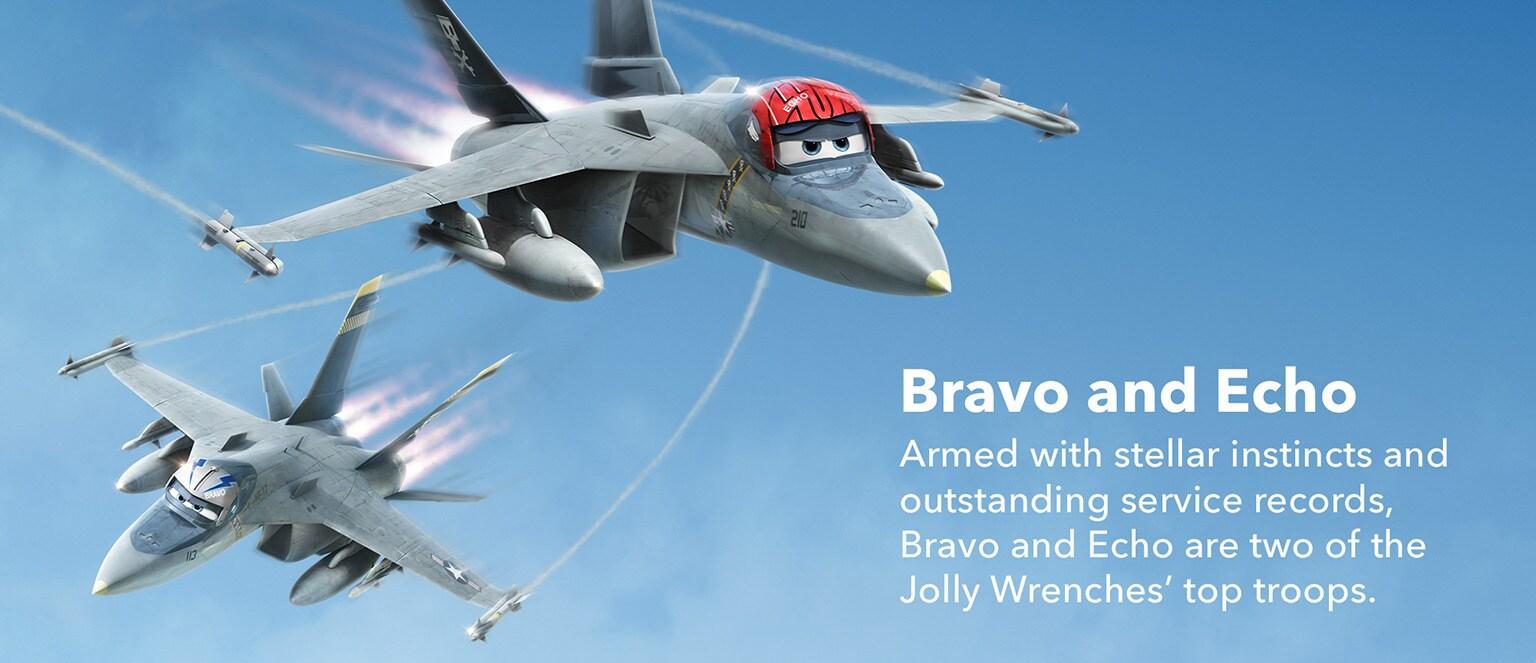 Planes - Characters - Bravo & Echo