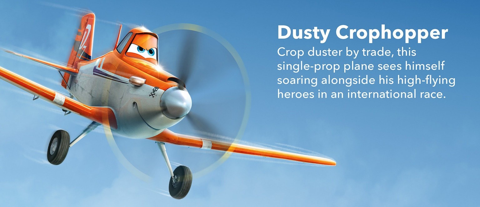 Planes - Character - Dusty Crophopper