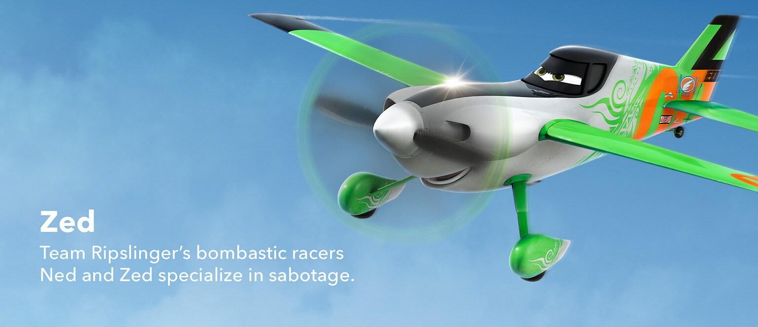 Planes - Character - Zed