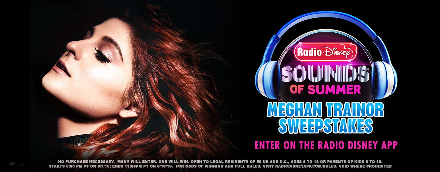 Sounds of Summer Meghan Trainor Sweepstakes
