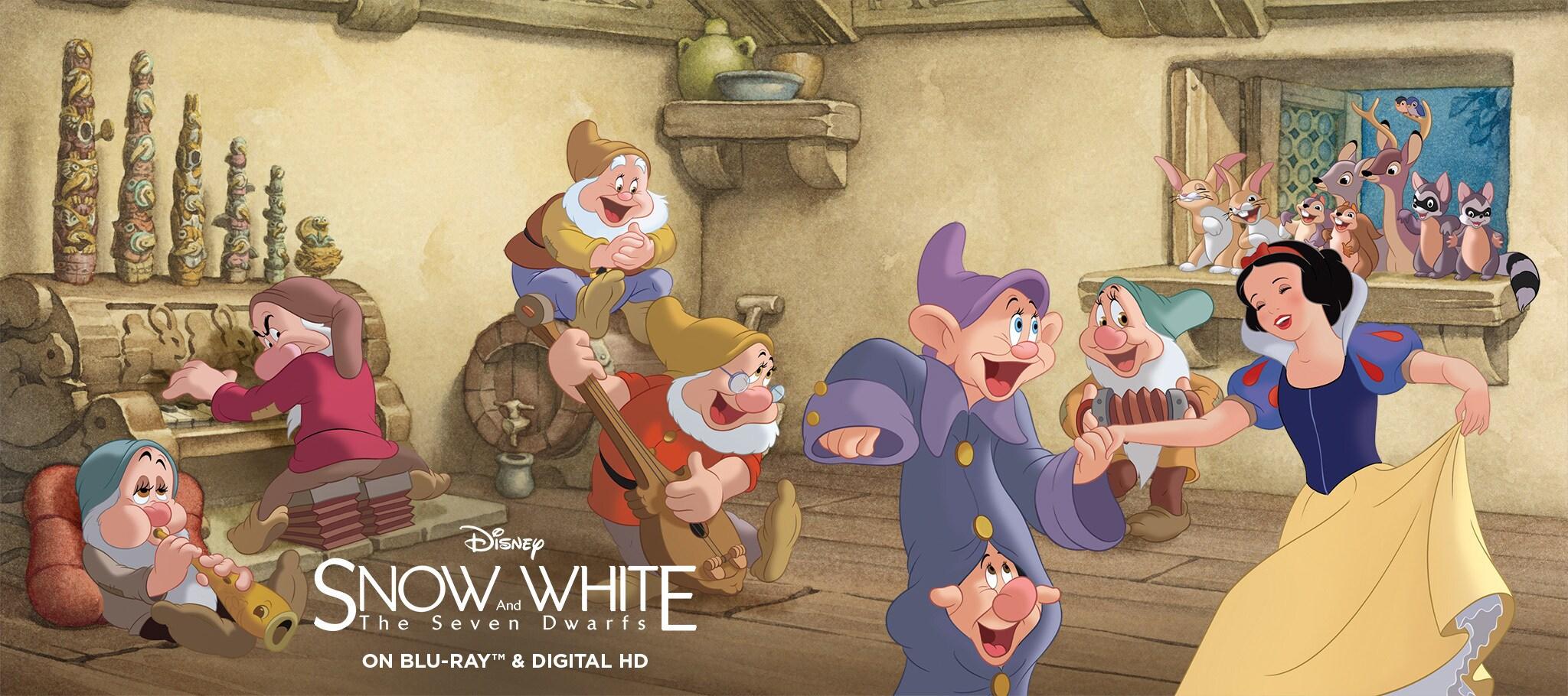 snow white and the seven dwarfs disney movies