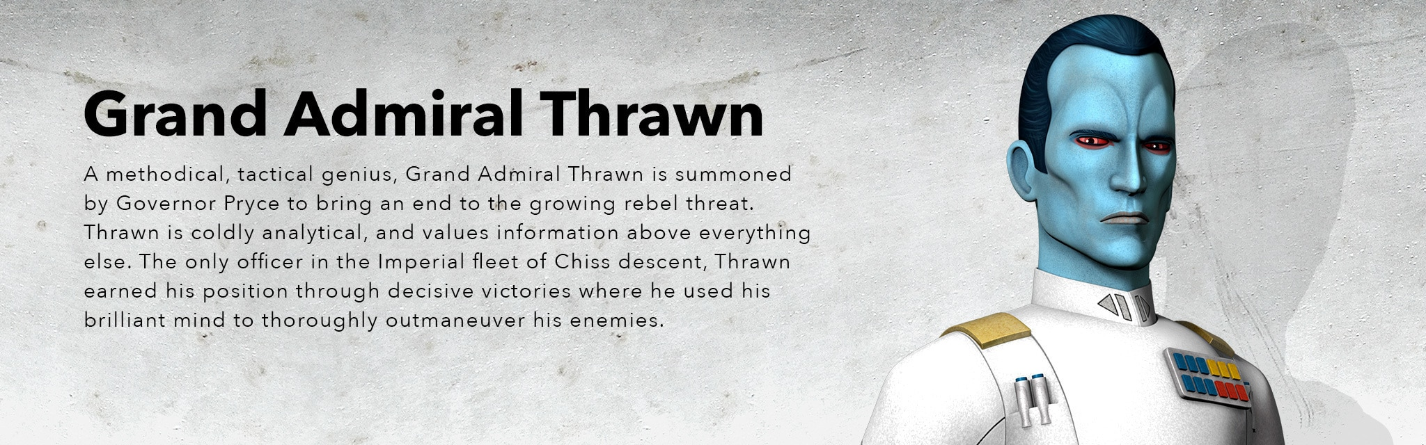 Star Wars Rebels Season 3 - Grand Admiral Thrawn - Hero