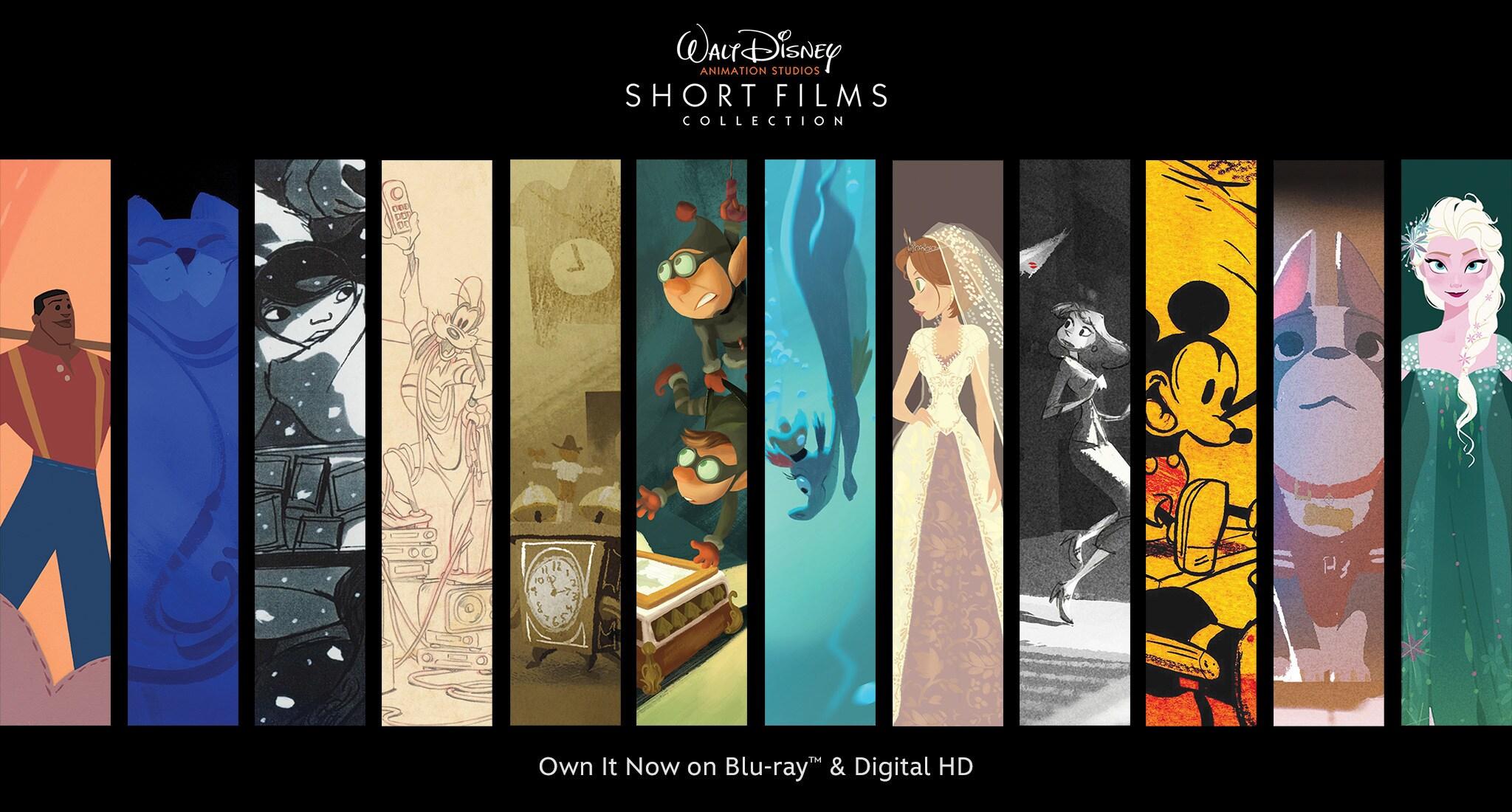 Walt Disney Animation Studios Short Films Collection Disney Movies