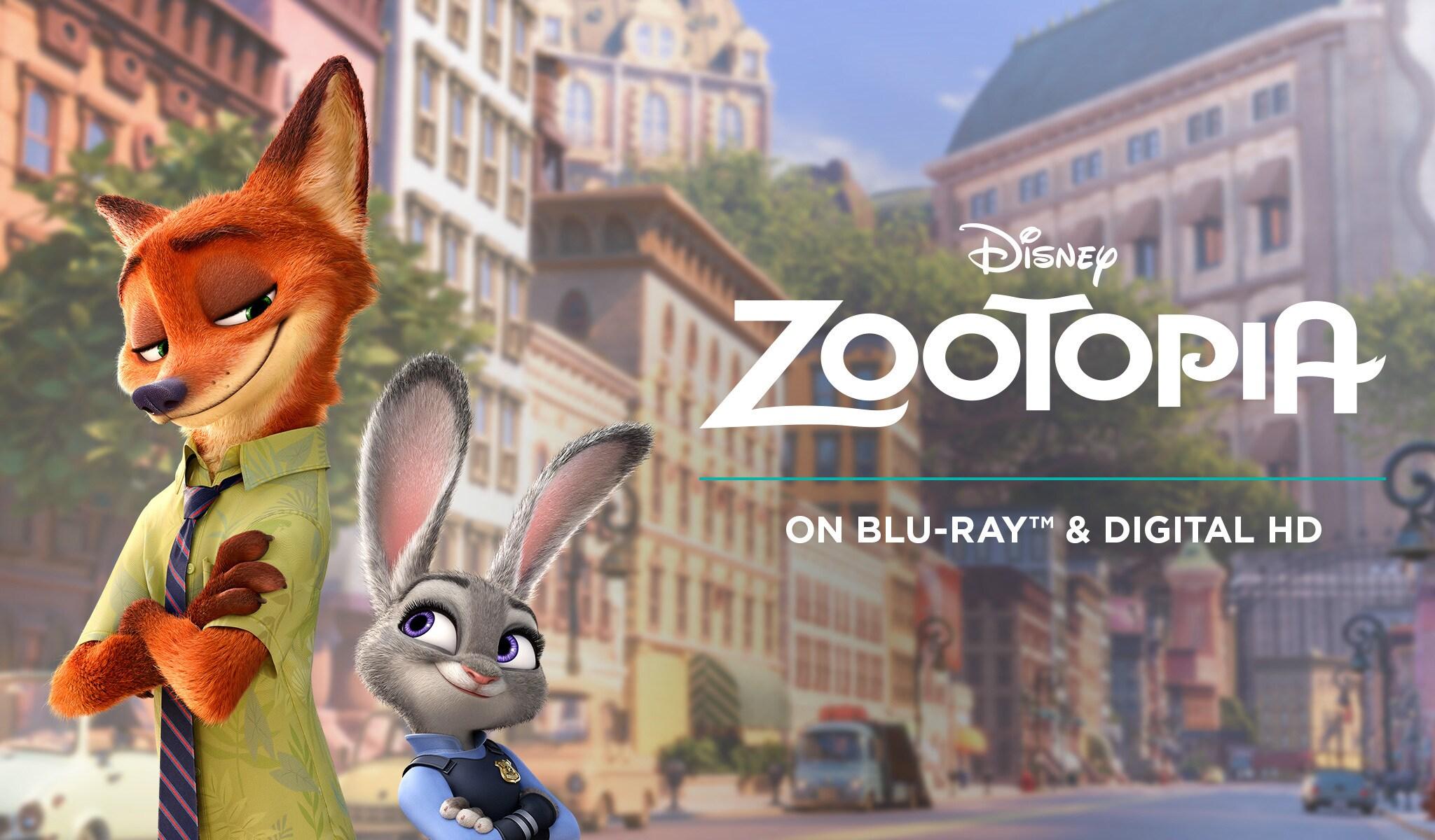 Zootopia Disney Movies