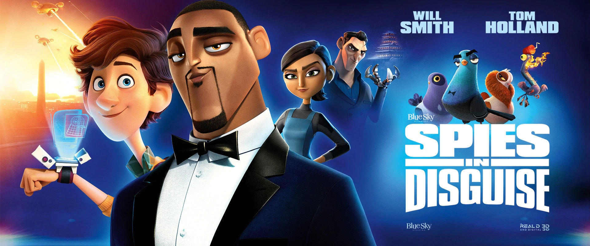 Spies in Disguise - Banner Hero Object
