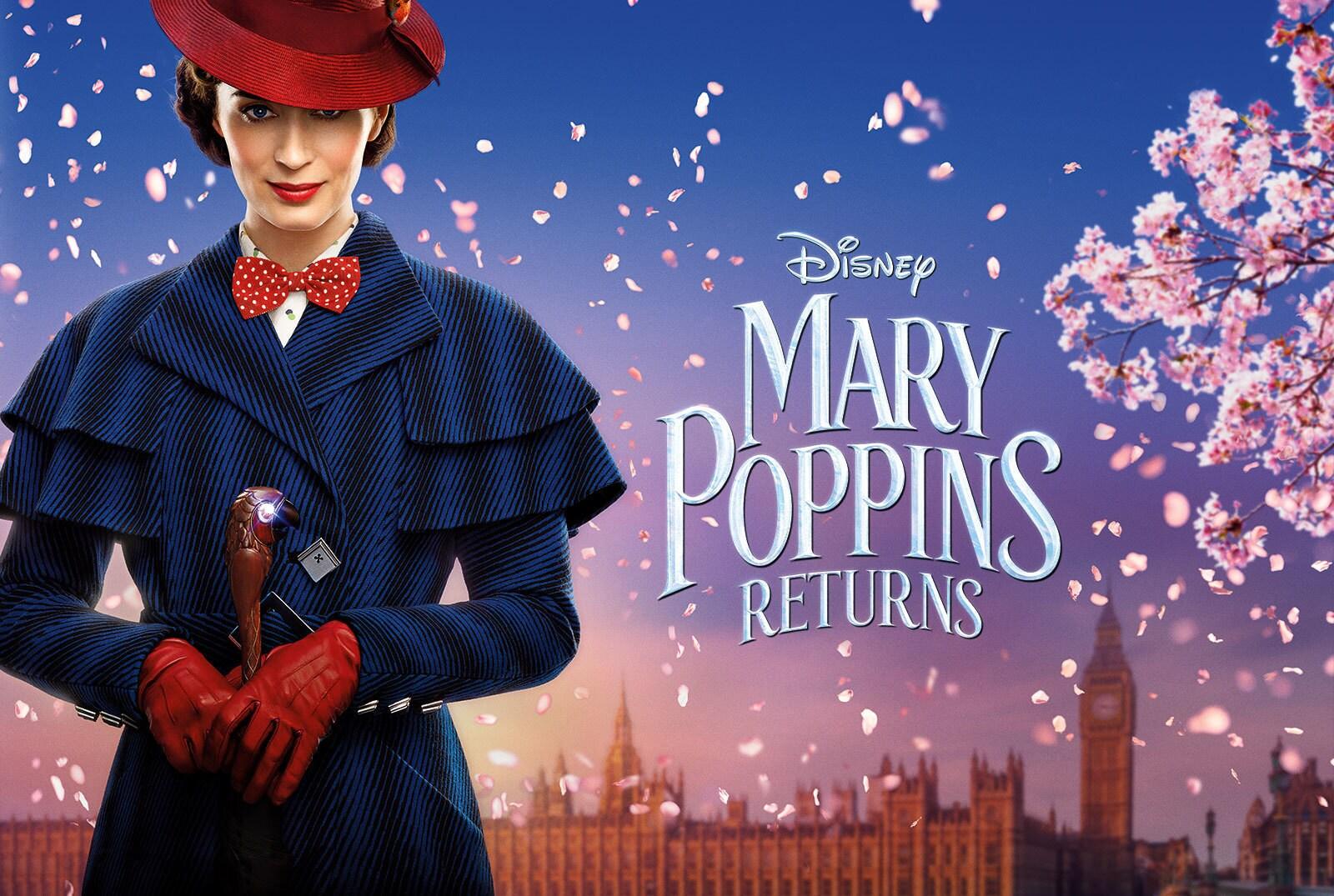 Disney's Mary Poppins Returns - Banner Hero Object - video