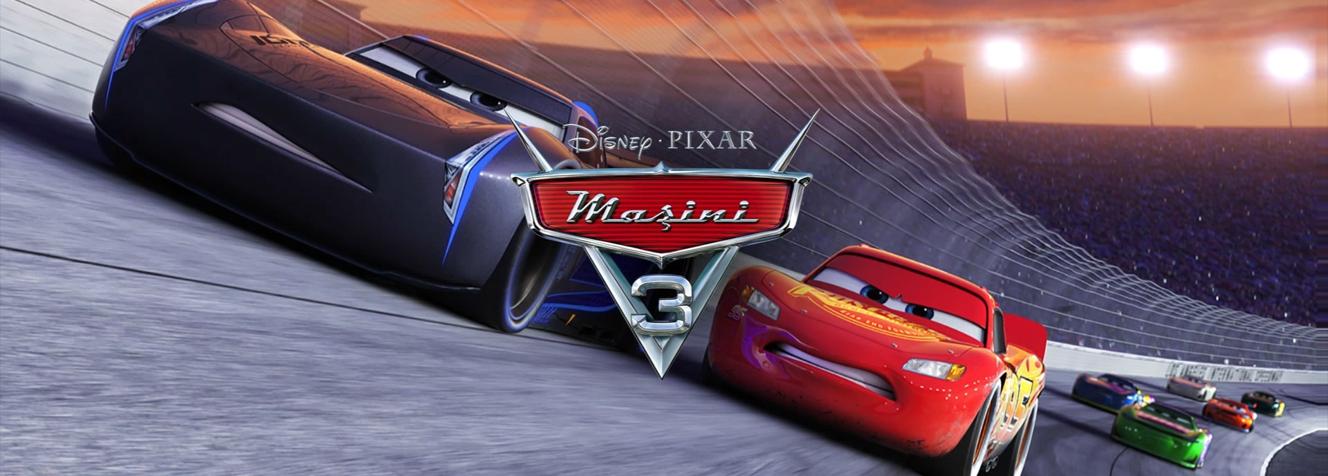 RO - Cars 3 Flex Hero - Animated