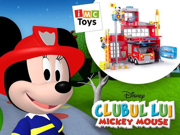 Concurs Universul lui Mickey şi Minnie