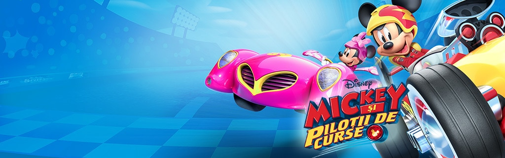 Mickey and the Roadster Racers - New series on Disney Junior - Homepage hero