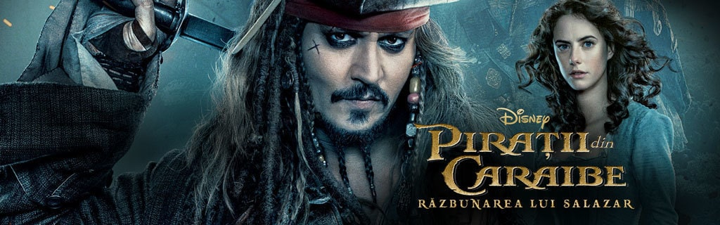Pirates of the Caribbean 5 - Coming to Cinemas - Movies Category Page Hero