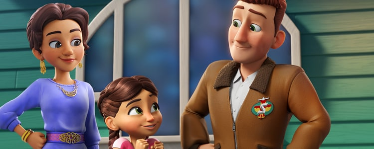 Disney Junior estrena Bluey y Rocketeer