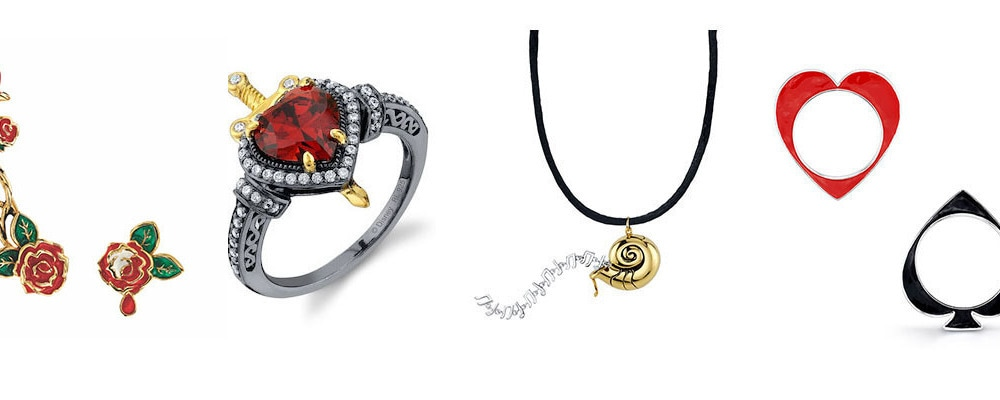 Jewelry from the Disney X RockLove Villains Collection