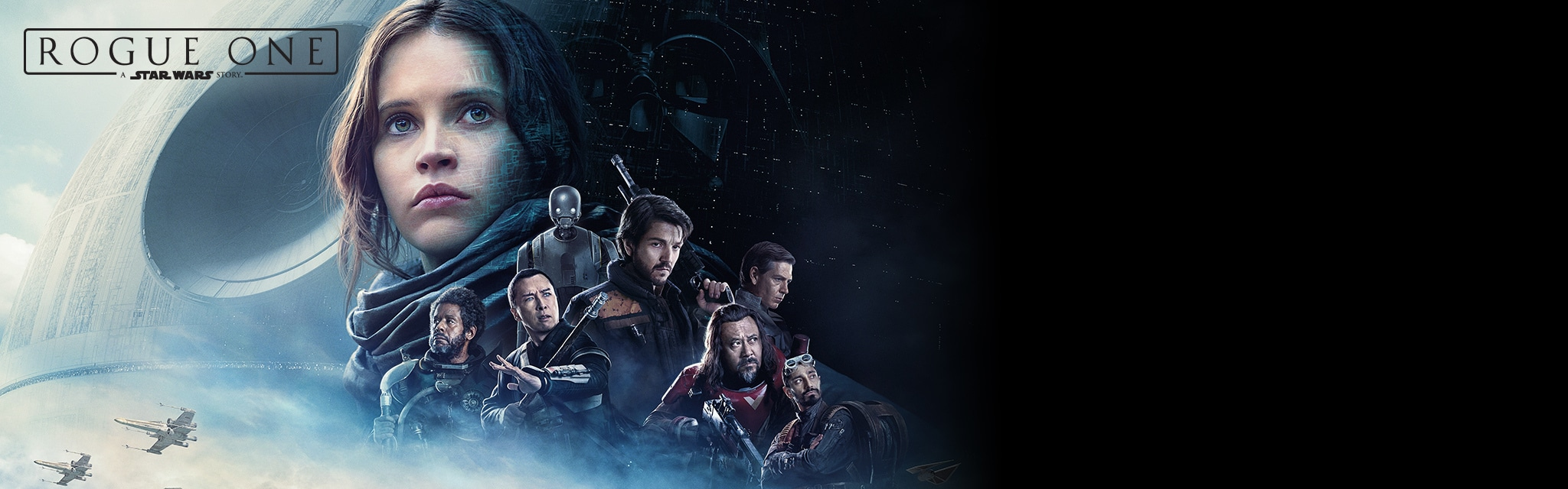 Rogue One - Group Shot - Get Showtimes - Hero - PH