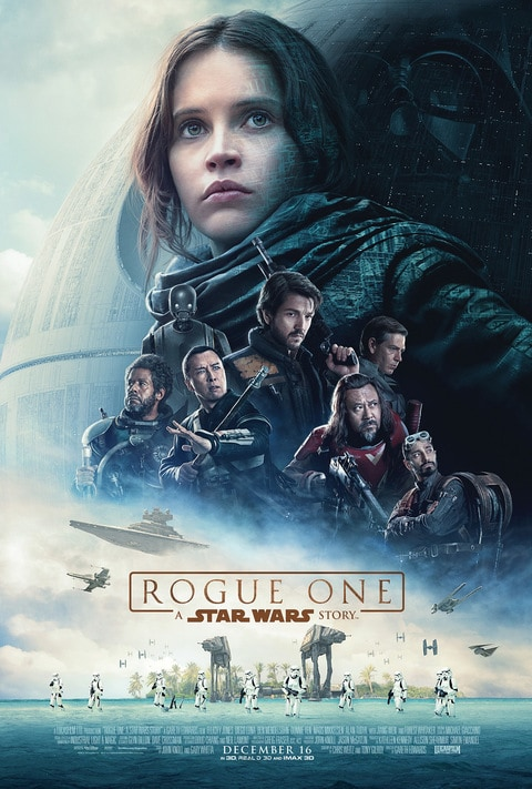 Friday April 7: Star Wars Double Feature~Rogue One @6-8:15pm, Star Wars (A New Hope) @9-11:00pm *REGISTRATION REQUIRED