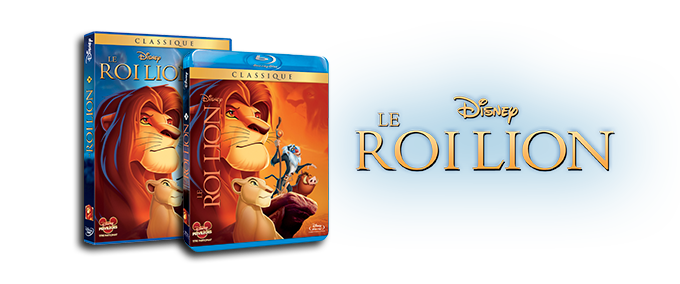 DVD / Blu-ray Le Roi Lion