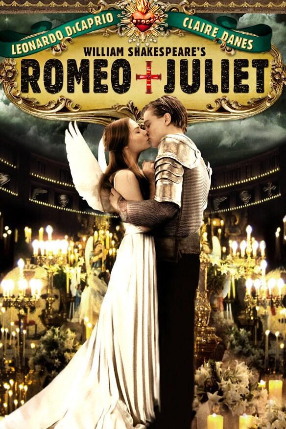 William Shakespeare's Romeo + Juliet movie poster