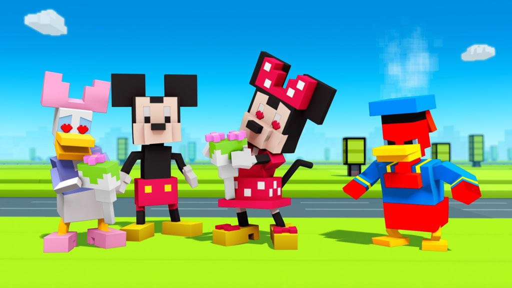 Episode 1: Rose Run | Disney Crossy Road | The Animated Series | Mickey and Friends