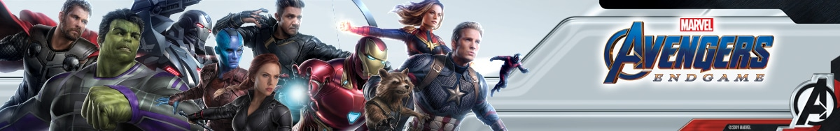 Avengers Endgame | Banner Products April BRAZIL