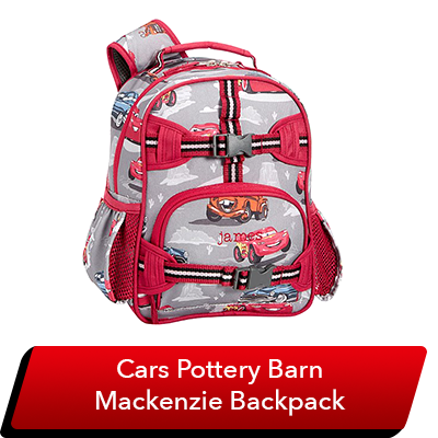 LMQ Day Sweepstakes - Cars Mackenzie Backpack (Pottery Barn)