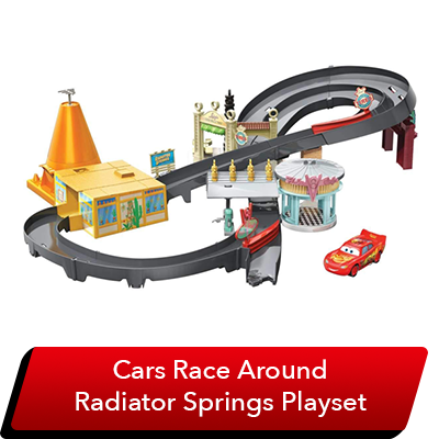 LMQ Day Sweepstakes - Cars Playset