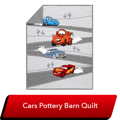 LMQ Day Sweepstakes - Cars Quilt (Pottery Barn)