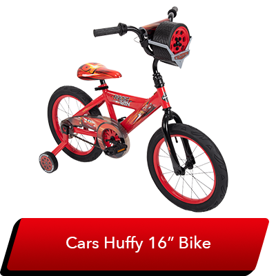 LMQ Day Sweepstakes - Cars Huffy Bike