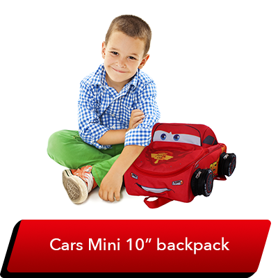LMQ Day Sweepstakes - Cars Character Backpack