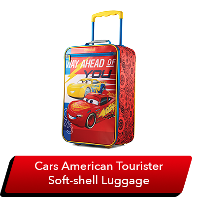 LMQ Day Sweepstakes - Lightning McQueen Luggage