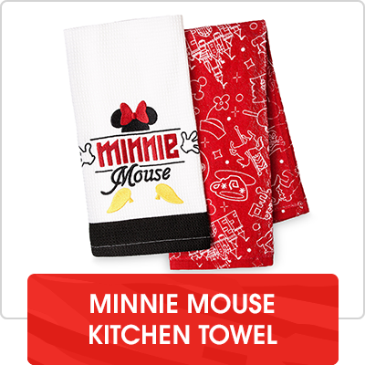 Hero Stream - Disney Eats - Minnie Mouse Kitchen Towel Set