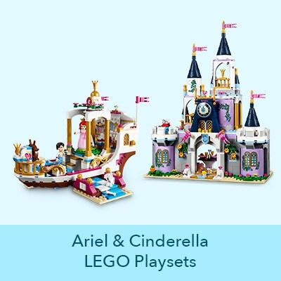 Ariel and Cinderella LEGO Playsets