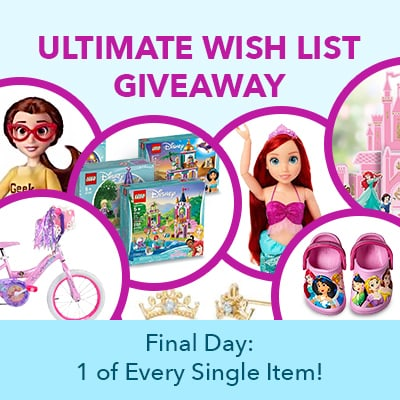 Grand Prize - Ultimate Wish List