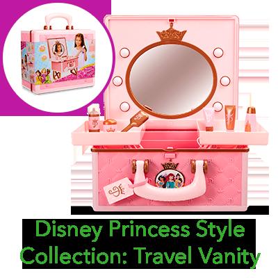 Disney Princess Style Collection Travel Vanity