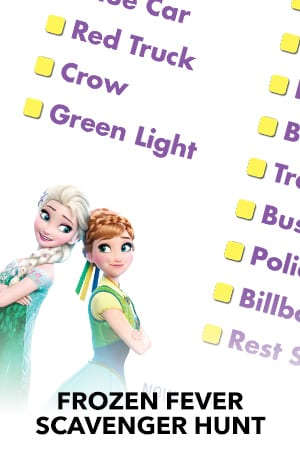 Frozen Fever Scavenger Hunt