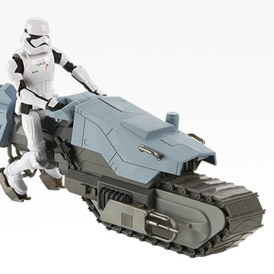 First Order Driver and Tread Speeder Action Figure