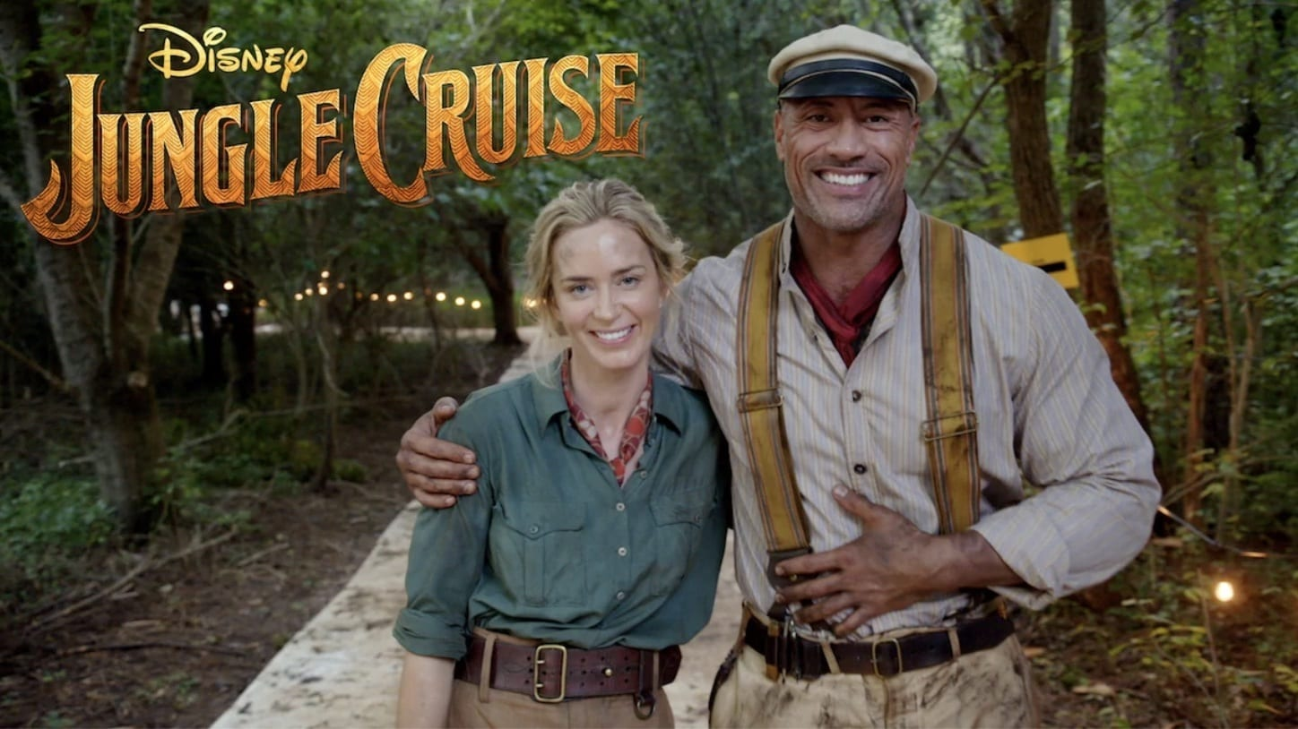 Emily Blunt and Dwayne Johnson Announce the Production of Disney's Jungle Cruise