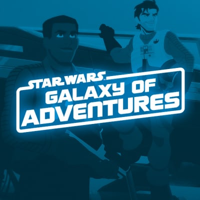 Star Wars Kids - Galaxy of Adventures Video Collection - Finn/Poe (square static)