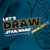 Star Wars Kids - Let's Draw Star Wars Video Collection