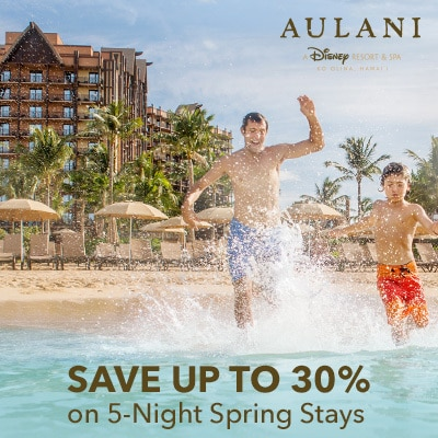 Save Up to 30% on 5-Night Spring Stays